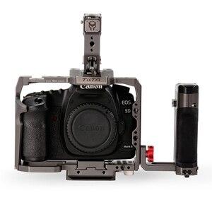 Image 5 - Tilta TA T47 A G Camera CAGE DSLR rig  FOR CANON 5D 7D 5D2 5D3 5D4 5D mark II 4D mark III side focus handle vs smallrig