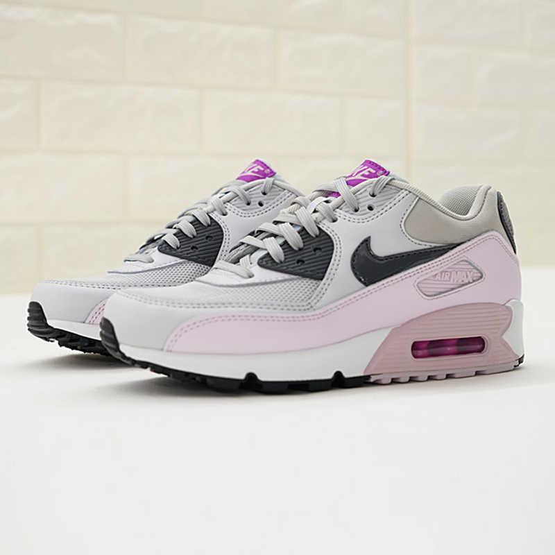 Originele Authentieke Nike Air Max 90 vrouwen Loopschoenen Sport Outdoor Sneakers Goede Kwaliteit Lichtgewicht Ademend 616730-112