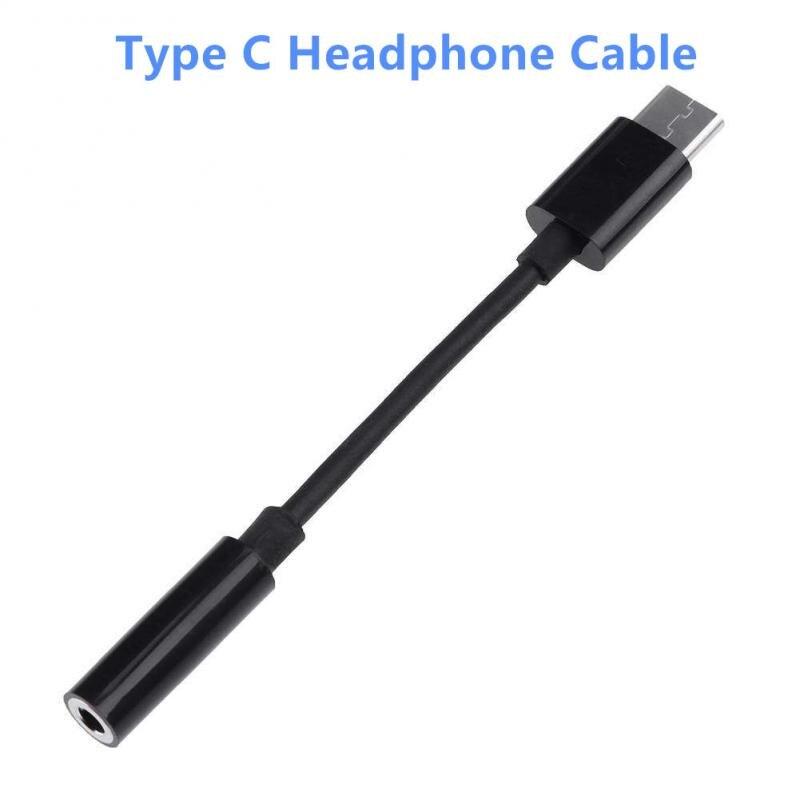Автомобильный стерео-адаптер для наушников с разъемом типа C 3,5 USB C на 3,5 мм AUX аудиокабель для Huawei Xiaomi смартфонов Прямая поставка