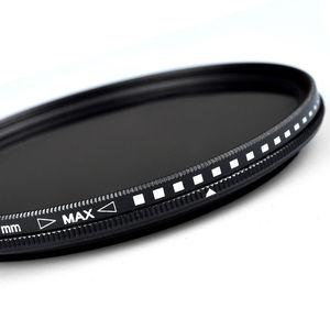Image 4 - Zomei زجاج سليم Fader متغير ND تصفية قابل للتعديل ND2 إلى ND400 ND2 400 كثافة محايدة لكانون نيكون Hoya سوني عدسة الكاميرا