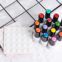 Nail-Art-Tools Practice-Hand Plaster Manicure-Gel-Polish Color-Button Sticker Label Adhesive