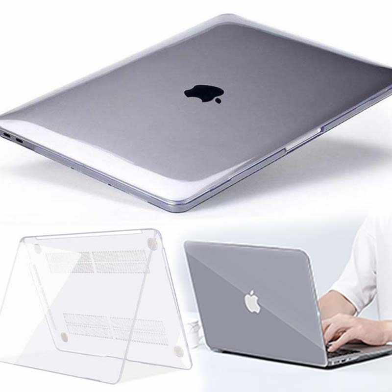 Kk & Ll Voor Apple Macbook Air Pro Retina 11 12 13 15 & Nieuwe Air 13 / Pro 13 15 16 Met Touch Bar-Crystal Hard Shell Laptop Cover Case