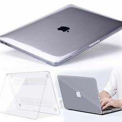 KK & Akan untuk Apple Macbook Air Pro Retina 11 12 13 15 & Baru AIR 13/Pro 13 15 16 dengan TOUCH BAR-Crystal Laptop Cangkang Keras Cover Case