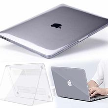 Kk & Ll Voor Apple Macbook Air Pro Retina 11 12 13 15 & Nieuwe Air 13 / Pro 13 15 16 Met Touch Bar-Crystal Hard Shell Laptop Cover Case(China)