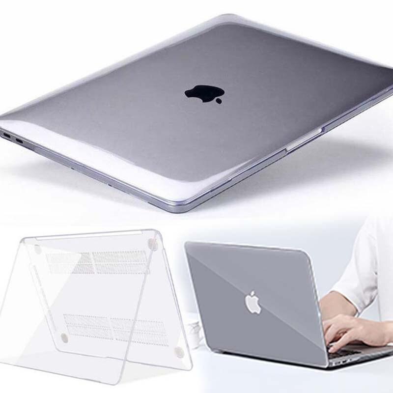 Kk & ll para apple macbook air pro retina 11 12 13 15 & novo ar 13/pro 13 15 polegadas com barra de toque-cristal capa para portátil de casca dura