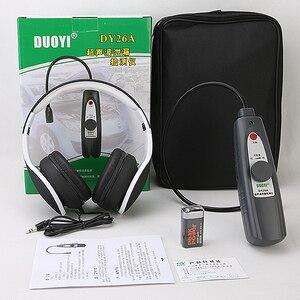 Image 5 - Detector de vazamento de carro ultrassônico dy26a, instrumento de inspeção de vedação de falha