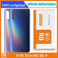 Voor Xiaomi Mi 9 Terug Batterij Cover Achterdeur Behuizing Case Glas Panel Mi 9 Vervanging Originele Voor Xiaomi Mi 9 Batterij cover