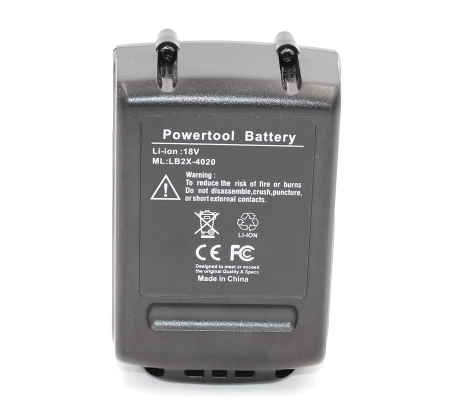 5000mAh LBXR20 Li-Ion 18V Battery For Black/&Decker BL2018 BL1518 LBX20 LBX4020