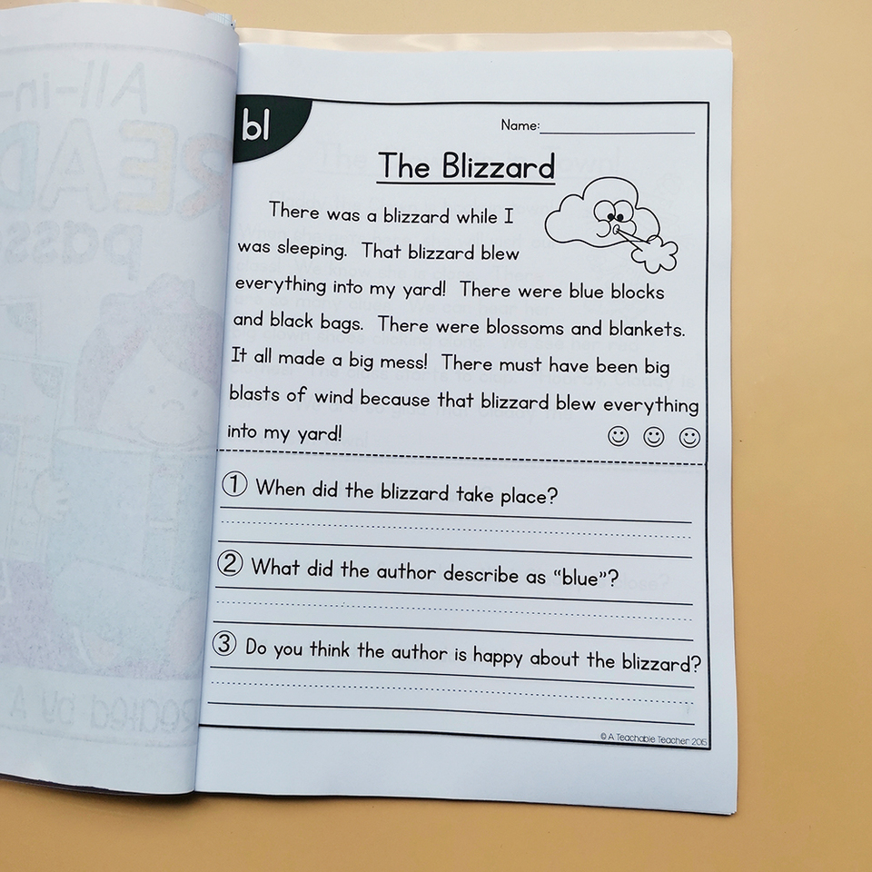 It is a picture of Printable Maze Reading Passages inside pdf comprehension worksheet