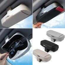 Автомобильный футляр для очков, держатель для хранения, чехол для солнцезащитных очков для сиденья ibiza 6j audi a1 citroen c3 hyundai veloster mini cooper r56 volvo s80