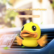 Car Aromatherapy Diffuser Cute Flying Duck Cartoon Air Vent Clip Freshener Perfume M8617