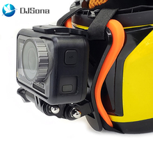 цена на Full Face Helmet Chin Mount Holder Motorcycle Helmet Chin Stand  Camera Accessories for GoPro Hero 7 6 5 Yi Action Sports Camera