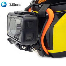 Full Face Helm Kin Mount Houder Motorhelm Chin Stand Camera Accessoires Voor Gopro Hero 7 6 5 Yi Action sport Camera(China)