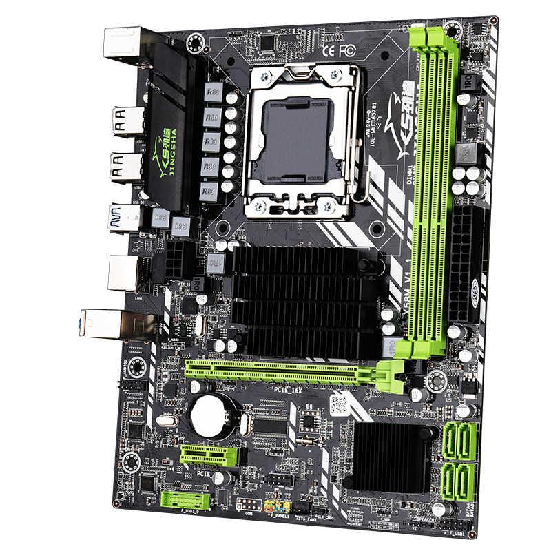 Mới Jingsha X58 LGA 1366 Bo Mạch Chủ Hỗ Trợ REG ECC Máy Chủ Trí Nhớ Và Xeon Bộ Vi Xử Lý