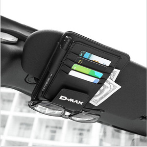 Image 5 - Sun Visorมัลติฟังก์ชั่PU Car Card Holderแว่นตาผู้ถือปากกาอุปกรณ์เสริมสำหรับIsuzu Dmax