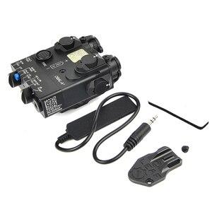 Image 5 - PEQ 15A DBAL A2 듀얼 빔 조준 레이저 ir & 레드 레이저 led 화이트 라이트 조명기 원격 배터리 박스 스위치