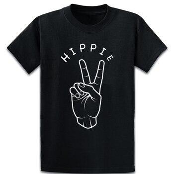 Hippie T Shirt Tee Shirt Design Breathable Spring Pictures Graphic S-XXXXXL Slim Shirt