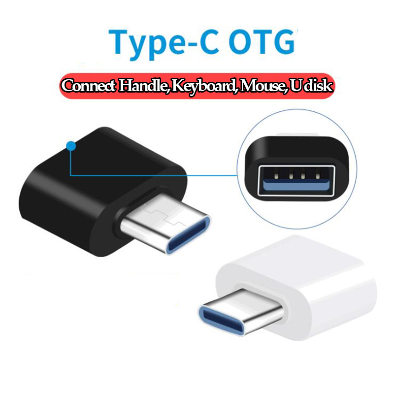 USB 3.0 Type-C OTG Cable Adapter Type C USB-C OTG Converter For Xiaomi Mi5 Mi6 Huawei Samsung Mouse Keyboard USB Disk Flash