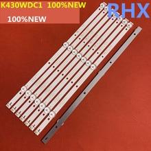 Light-Bar 3lamp for 43inch LCD TV Light-bar/K430wdc1/Aoc/.. 8piece/Lot