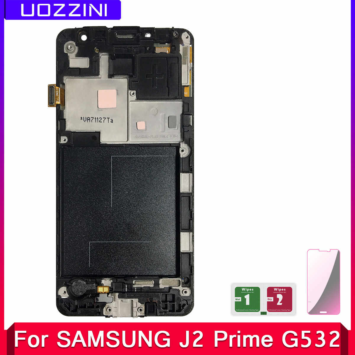 2 Pcs Lcds J2 Prime For Samsung Galaxy J2 Prime G532 SM-G532 SM-G532F G532F LCD Display Touch Screen Digitizer With Frame