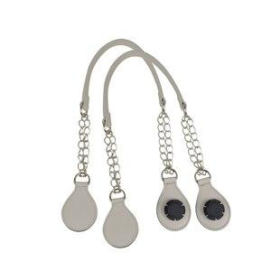 Image 2 - Tanqu Correa de Metal para hombro O bolso, 1 par, combinación de extremo, con asa para bolso