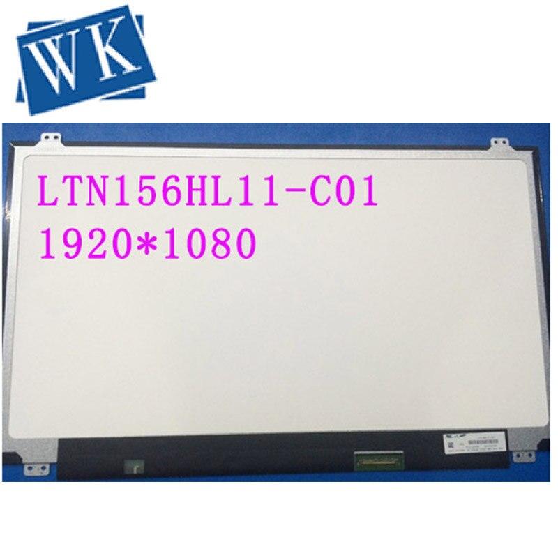LTN156HL11-C01 DP/N XPWGW 0XPWGW para Dell con pantalla táctil 1920x1080 FHD resplandor 40 pines 15,6 LTN156HL11 C01 matriz de pantalla LED