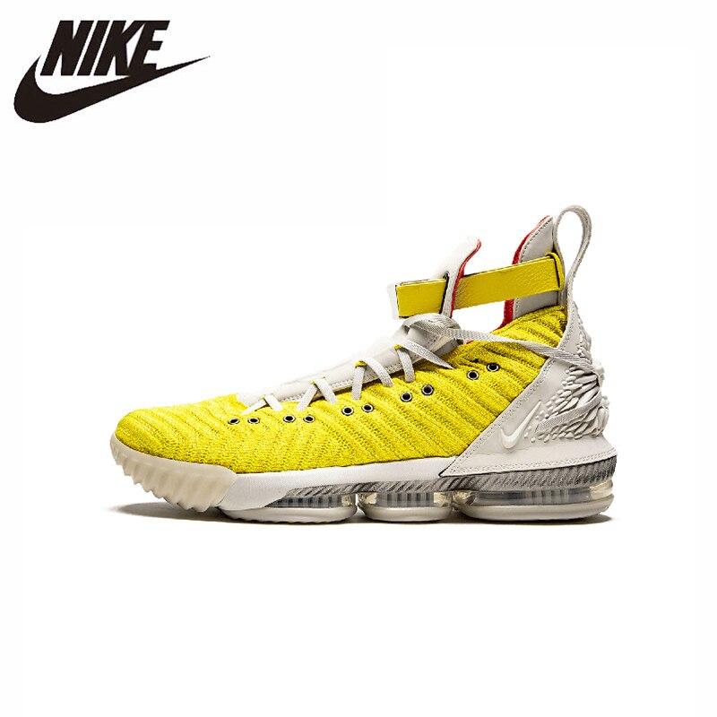 Nike Lebron 16 quatre cavaliers Original nouveauté hommes basket chaussures confortable respirant sport baskets # CI1144-700