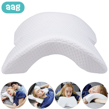 Buy AAG Maternity Pillow for Pregnant Memory Foam Bedding Pillow Anti-pressure Hand Pillows Neck Protection Multifunction Pillows directly from merchant!