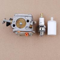 Carburetor Fuel Filter Spark Plug Kit fit Huaqvarna Partner K650 K700 K800 K1200 Cut off Concrete Saw Carb 503280418 Parts