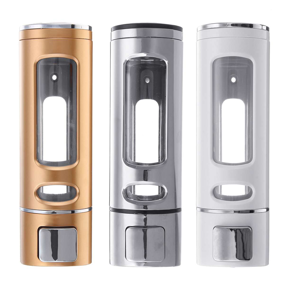400ml Wall Mount Liquid Soap Dispenser Plastic Kitchen Bathroom Shampoo Dispensers Liquid Soap Container Bathroom Accessories