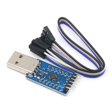 USB 2.0 to TTL UART 6PIN Module Serial Converter CP2104 STC PRGMR Replace CP2102 With Dupont Cables(China)