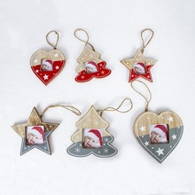 Get more info on the PMini Tree Love Heart Star Christmas Frame Ornaments Hanging Christmas Tree Decorations Cute Kids Gifts CM