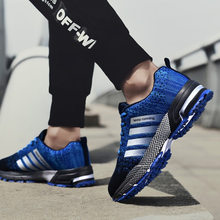 Men's shoes breathable flying net shoes sports shoes running shoes