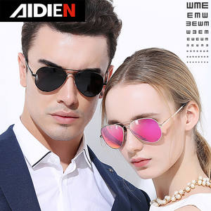 Driving Glasses Aviation Pink Polarized Women Female Blue Pilot Minus-Diopter