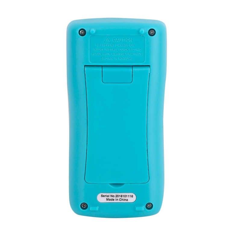 자동 범위 디지털 멀티 미터 대형 스크린 백라이트 버저 보호 ac dc 전류계 전압계 옴 휴대용 2000 카운트 rm098