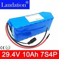 24v batterie 24V 10Ah Elektrische fahrrad Lithium-Ionen Batterie 29 4 V 10000mAh 15A BMS 250W 350W 18650 Akku elektrische fahrrad