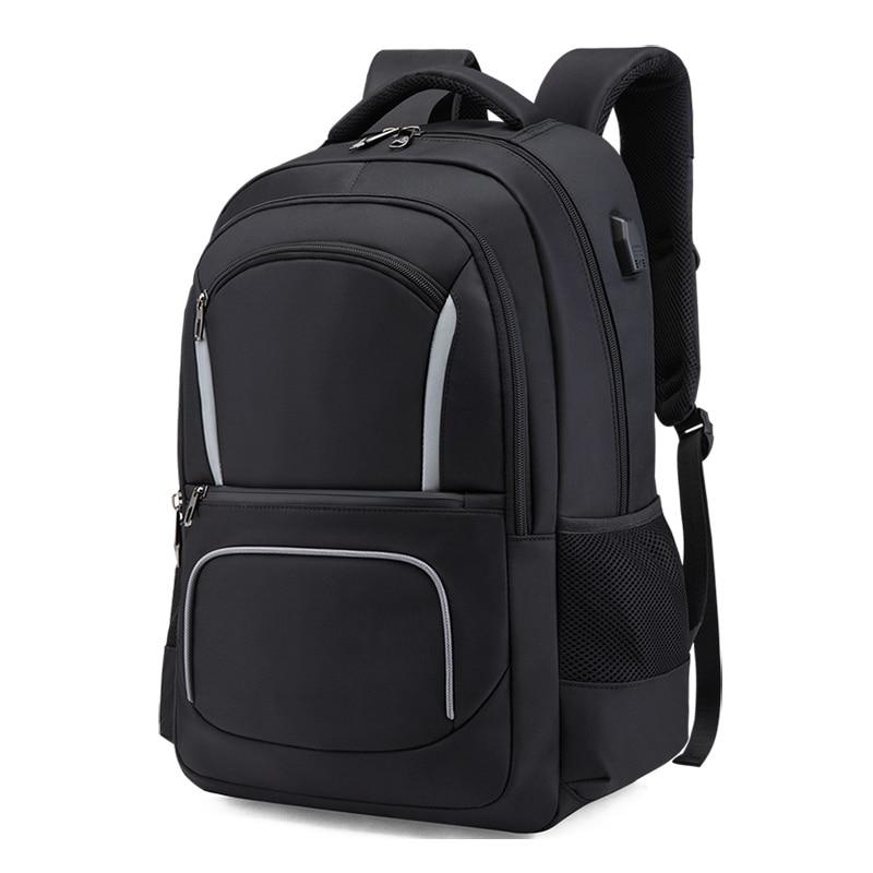 Banlosen Anti theft 20L Large Capacity 15.6 inch College Backpacks Men Black Backpack Female Women Mochila Laptop Bag15 17 inch
