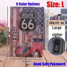Caja de Seguridad en forma de L con cierre de llave, Libro Secreto, alcancía, dinero, casillero de seguridad secreto, joyería, nuevo diseño
