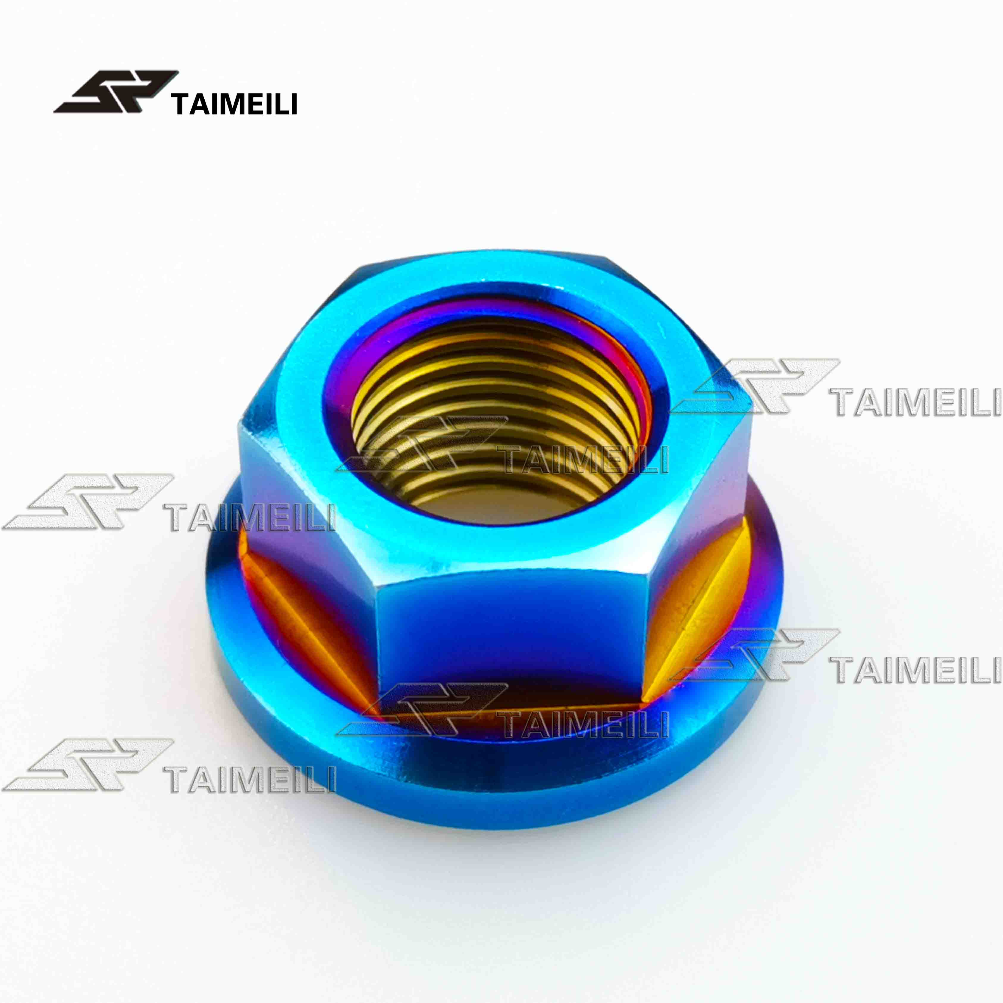 Titanium Ti Bolts M5 X 10 12 16 18 20 25 30 35 40 45 50 55 60Mm Allen Key Square Head Screw For Bicycle Stem Seatpost Gold M5 20mm