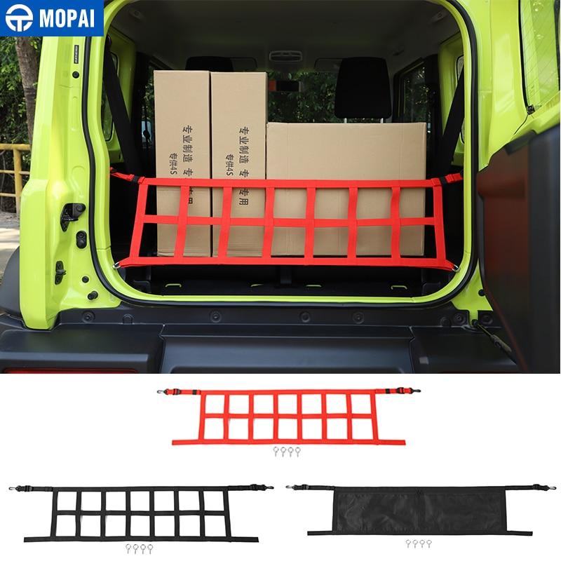 MOPAI Car Cover For Suzuki Jimny 2019+ Car Trunk Cargo Net Cover Storage Bag Accessories For Suzuki Jimny 2019+
