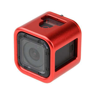 Image 2 - Aluminum Frame Housing Case Protective Rugged Cage for Gopro 5 session/4 session Mental Mount for Gopro Session Camera Accessory