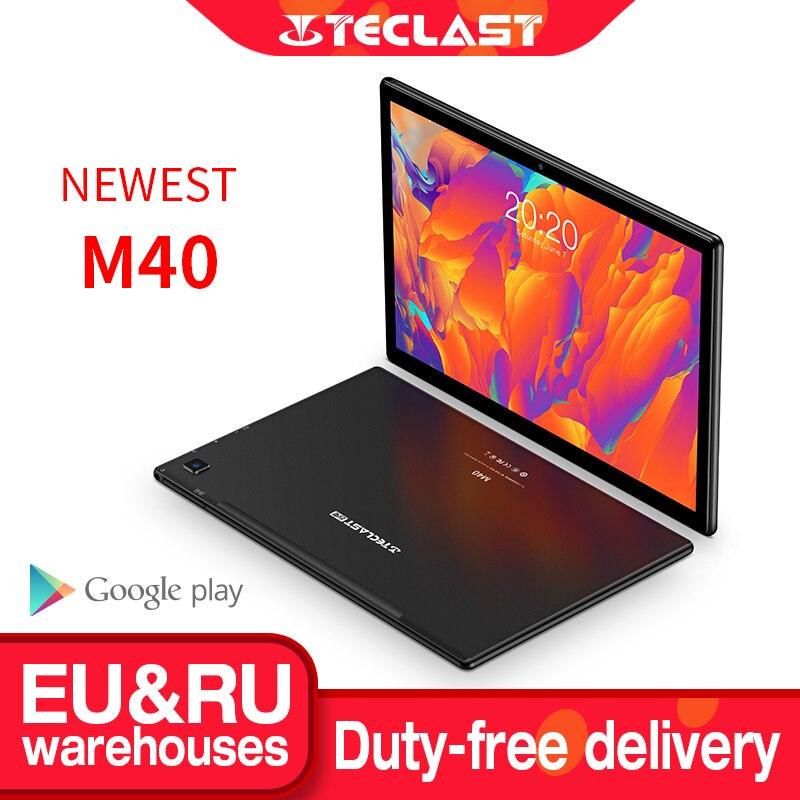 Teclast M40 10,1 ''планшет 1920x1200 подключается к сети 4G UNISOC T618 Octa Core 6 ГБ Оперативная память 128 Гб Встроенная память Планшеты ПК с системой андроида и 10 ...