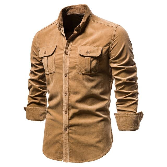 Men's Business Casual Slim Shirt