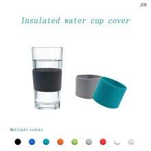 Jcd 8 см Силиконовая керамическая чашка рукава кофейная кружка