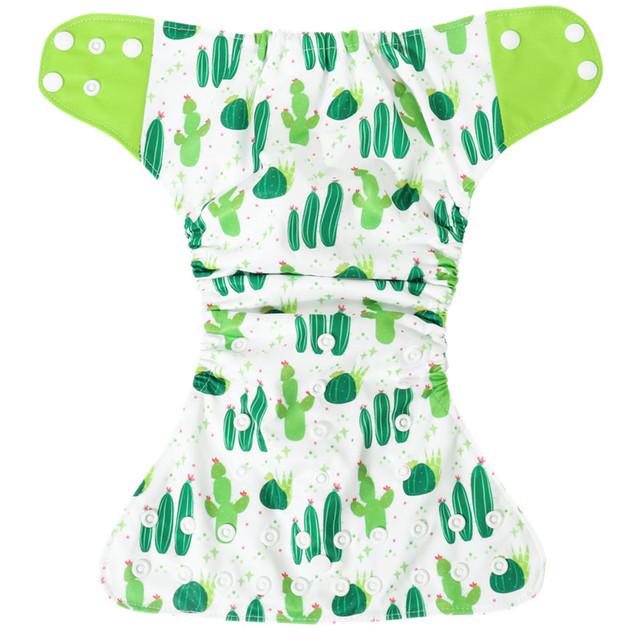 New Reusable Waterproof Digital Printed Baby Cloth Diapers