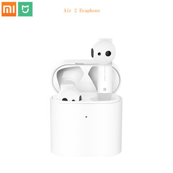 New Xiaomi mijia Air 2 TWS Bluetooth Headset Earphone Comfy Wear LHDC/AAC HD 14.2mm Dynamic Dual Mic ENC Auto Pause Tap Control