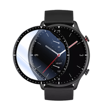 Funda protectora de fibra suave 3D para reloj inteligente Xiaomi Amazfit GTR 2 / 2E / 2 ESIM, funda protectora de pantalla completa