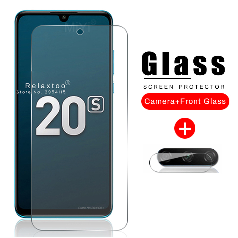 2-in-1 Original Protective Glass Honor 20s Camera Glass On For Huawei Honor 20 S 20s S20 Honor20s Mar-lx1h 6.15'' Tremp Cam Film
