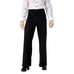 Image 2 - Adulte hommes Vintage 70s Disco Costume botte coupe pantalon tenue de fête déguisement dhalloween