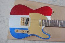 2019 Nova + guitarra Fábrica + Chender Buck Owens 3 cor metálica finish guitarra elétrica FD guitarra elétrica elétrica livre grátis